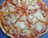 Pizza teflon (dough tanpa susu) langkah memasak 8 foto