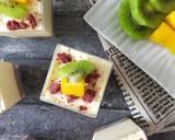 Unbaked Mango Cheese Cake (No Egg, No Gelatin) langkah memasak 6 foto