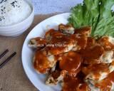 Terong Krispi Saus Thai langkah memasak 5 foto