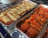 Salmon Kani Mentai langkah memasak 5 foto