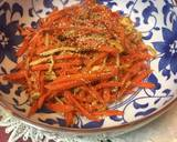 Japanese Carrot Fry with Salty Fishegg recipe step 6 photo