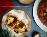 Christmas Marmer Cake langkah memasak 7 foto