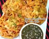 Ote-ote (Bakwan Sayur) langkah memasak 4 foto