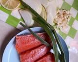 Salmon Creamy Soup langkah memasak 2 foto