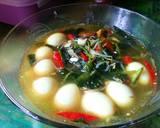 Cah Kuah Kangkung langkah memasak 10 foto