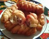 Roti Goreng Kepang Isi Pisang langkah memasak 7 foto