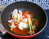 Cumi Goreng Saus Padang langkah memasak 9 foto