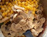 Mushroom,sweetcorn, paneer n capsicum#authors marathon recipe step 3 photo