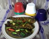 Ikan mas acar kuning langkah memasak 3 foto
