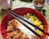 Simple n healthy chicken teriyaki- rice bowl, dg saos teriyaki homemade langkah memasak 7 foto