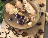 Chicken soup herbal Taiwan (ayam sup herbal) langkah memasak 4 foto
