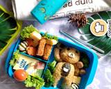 Bento Teddy Bear langkah memasak 6 foto