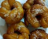 Twisted donuts/how to make tea time snack/simple fluffy soft recipe step 10 photo