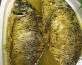 Krebek Ikan Mas (Ikan Mas Godog) langkah memasak 4 foto