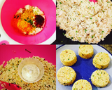 Nasi KepaL langkah memasak 2 foto
