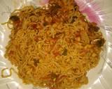 Spicy Chicken noodles recipe step 7 photo