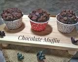Chocolate Muffin langkah memasak 9 foto