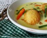 Sayur Santan Telur Bunga Bawang #postingrame2_telur langkah memasak 3 foto
