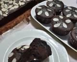 Brownies Alpukat tabur Almond langkah memasak 6 foto