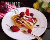Belgian Waffle (Tanpa Susu) langkah memasak 6 foto