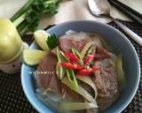 Pho Bo (Vietnamese Beef Noodle Soup) langkah memasak 5 foto