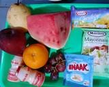 #129 Salad Buah Yakult langkah memasak 1 foto