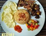 Nasi Kebuli Kambing langkah memasak 9 foto