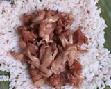 Nasi Bakar Tempe Jamur langkah memasak 4 foto