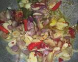 Sayur labu siam & Telur langkah memasak 4 foto