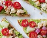 Roti Panggang Saus Apokat dgn Salad Udang langkah memasak 5 foto