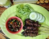 Sate Maranggi (dengan madu) #FestivalResepAsia#Indonesia#Sapi langkah memasak 6 foto