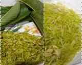 Tumis Bunga Pepaya Teri langkah memasak 1 foto