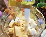 Cheese cake Milk Tea langkah memasak 5 foto