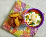 Steamed shakshouka with wedges potato langkah memasak 5 foto