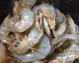 Salted egg sauce shrimp langkah memasak 1 foto