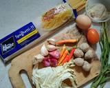 Spaghetti Tek-tek langkah memasak 1 foto