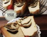 280. Cake Marmer Putih Telur langkah memasak 16 foto