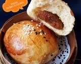 487. Roti Manis Isi Selai Nanas, lembut & moist langkah memasak 16 foto