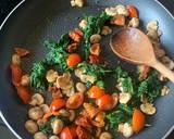 Spinach, Tomato & Feta Quesadillas recipe step 1 photo