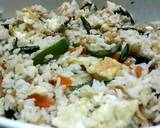 Stir fried egg and mixed veg fried rice recipe step 1 photo