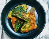 Telur Dadar Kangkung langkah memasak 5 foto