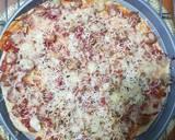 Pizza thin crust ala2 langkah memasak 5 foto