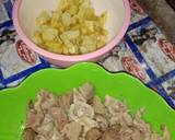 Sambal goreng jeroan ayam dan kentang langkah memasak 1 foto