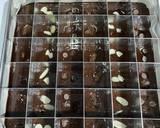 Shiny Crust Brownies Potong langkah memasak 3 foto