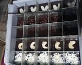 Chewy Brownies Sekat anti gagal (no mixer) langkah memasak 4 foto