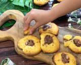 Nutella Thumbprint Cookies ala Tiger Kitchen langkah memasak 7 foto