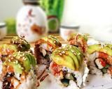 Teriyaki Chicken Sushi Roll langkah memasak 11 foto