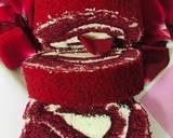 Red Velvet Vanilla Delight (eggless) recipe step 10 photo