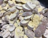 Sticky mushrooms and onions recipe step 1 photo
