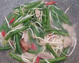Tumis kacang panjang bumbu simpel langkah memasak 4 foto